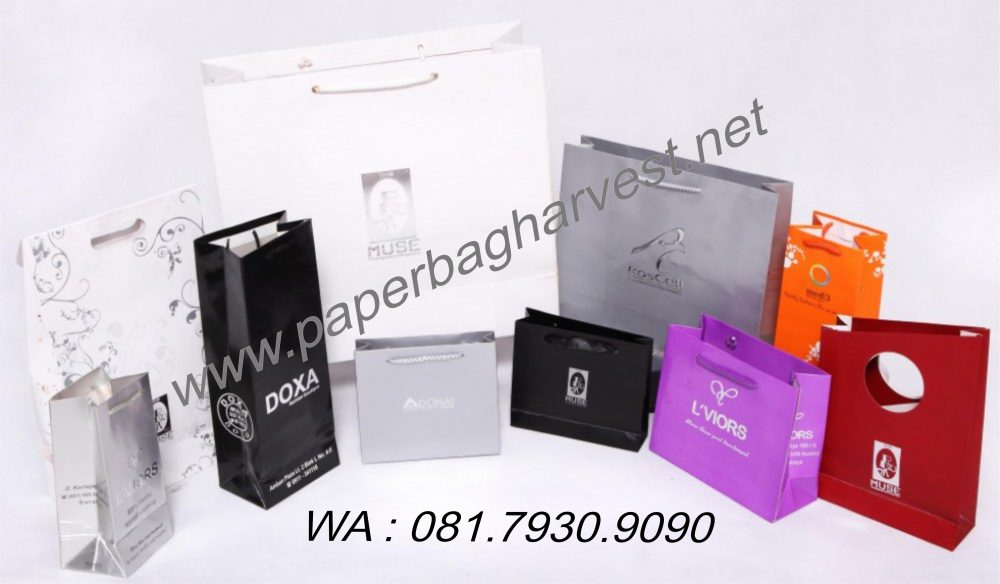 Produsen Paper Bag – Produsen Tas Kertas – Jual Tas Kertas Murah Berkualitas Surabaya